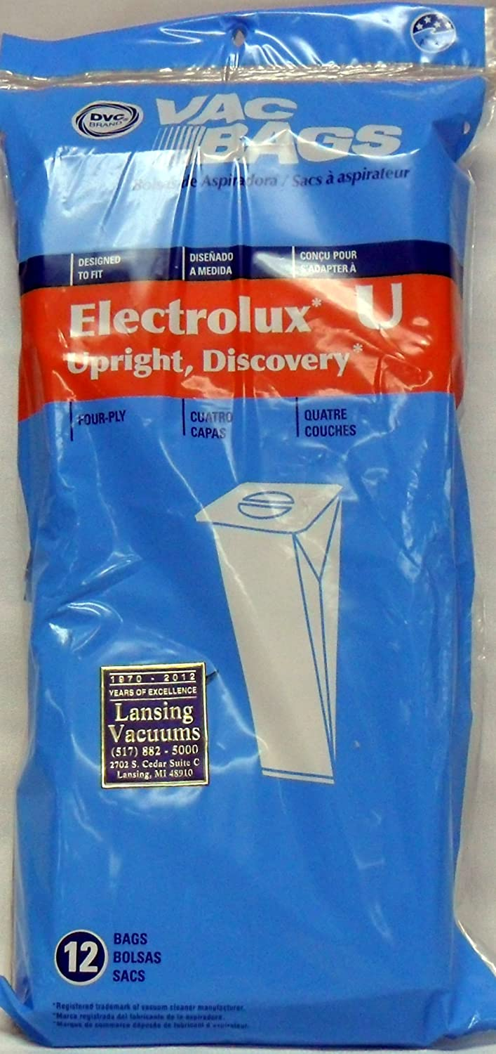 Electrolux Upright Type U Self-Sealing 4 Ply Vacuum Bags - 12 Pack at Sears.com