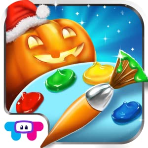 Holiday Draw Galore - An Interactive sparkles painting game by TabTale LTD