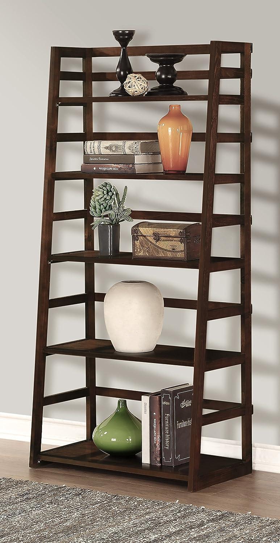 Decorative Bookshelf Case For Home Corner Ladder Tree