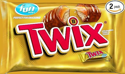 Amazon - 2 x Twix Caramel Fun Size Chocolate Candy, 22.34oz - $7.29