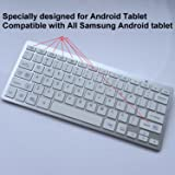 Teclado inShang Bluetooth para PC / Android OS Samsung Galaxy Tab / Note 4-12 tabletas y teléfonos / Nexus7 / 10 Goolge Tablets