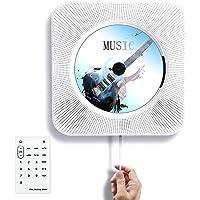 Tocode Wall Mountable Bluetooth Home Audio CD Player
