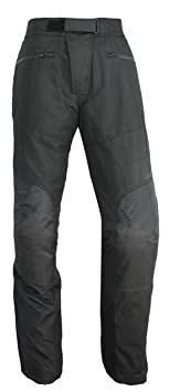 NERVE 1511070404_08 Easy Going Pantalon de Moto, Noir, Taille : 4XL