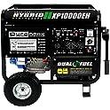 DuroMax XP10000EH 10000 Watt Gasoline Portable Generator