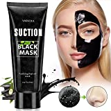 Black Mask Peel off Mask, Charcoal Purifying Blackhead Remover Mask Deep Cleansing for Acne & Acne Scars, Blemishes, Anti-Aging, Wrinkles, Organic Activated Charcoal (Tamaño: 60 G)