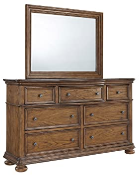 Pulaski Paxton Drawer Dresser in Medium Wood