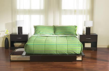 Back Bay Full/Queen Platform 3 Piece Bedroom Set