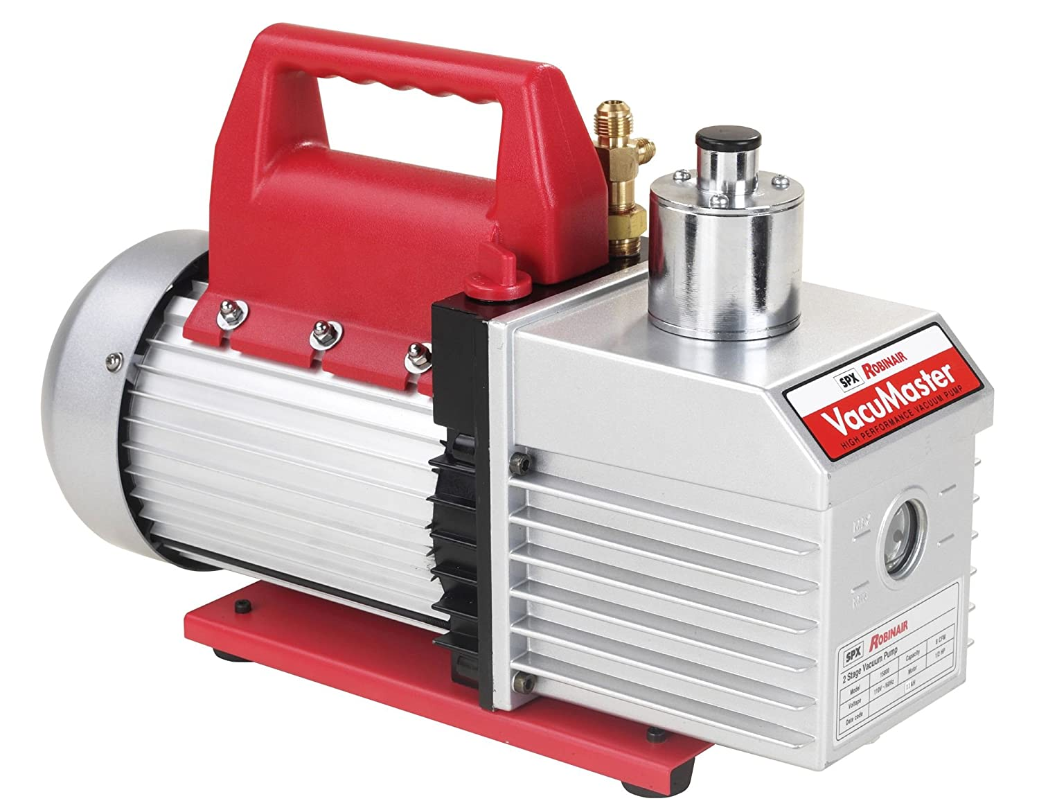 Robinair 15800 Vacumaster 8 Cfm Two Stage Vacuum Pump Easy
