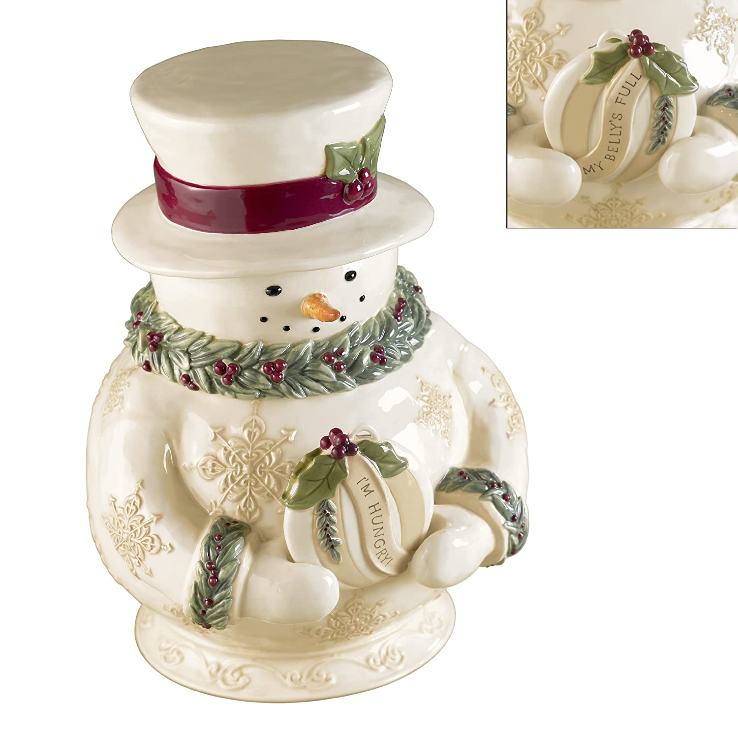 Hungry Snowman Jar