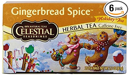 Celestial Spice Tea Gingerbread Spice Tea