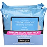 Neutrogena Makeup Removing Wipes, 25 Count, Twin Pack (Color: Makeup Remover Wipes, Tamaño: 50 Wipes)