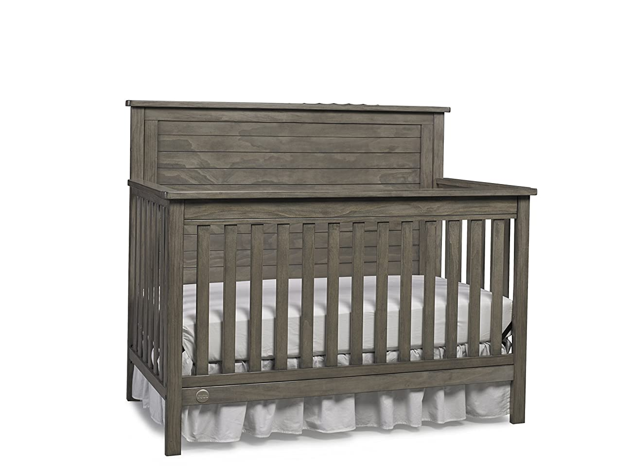 Fisher-Price Quinn 4-in-1 Convertible Crib, Vintage Grey 2