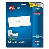 Avery Easy Peel Address Labels for Inkjet Printers, 1