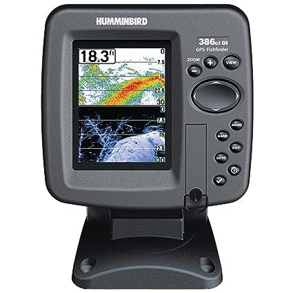 Humminbird 386CXI DI Combo Colour GPS/traceur/sondeur avec technologie Down-Imaging Noir 3,5 pouces