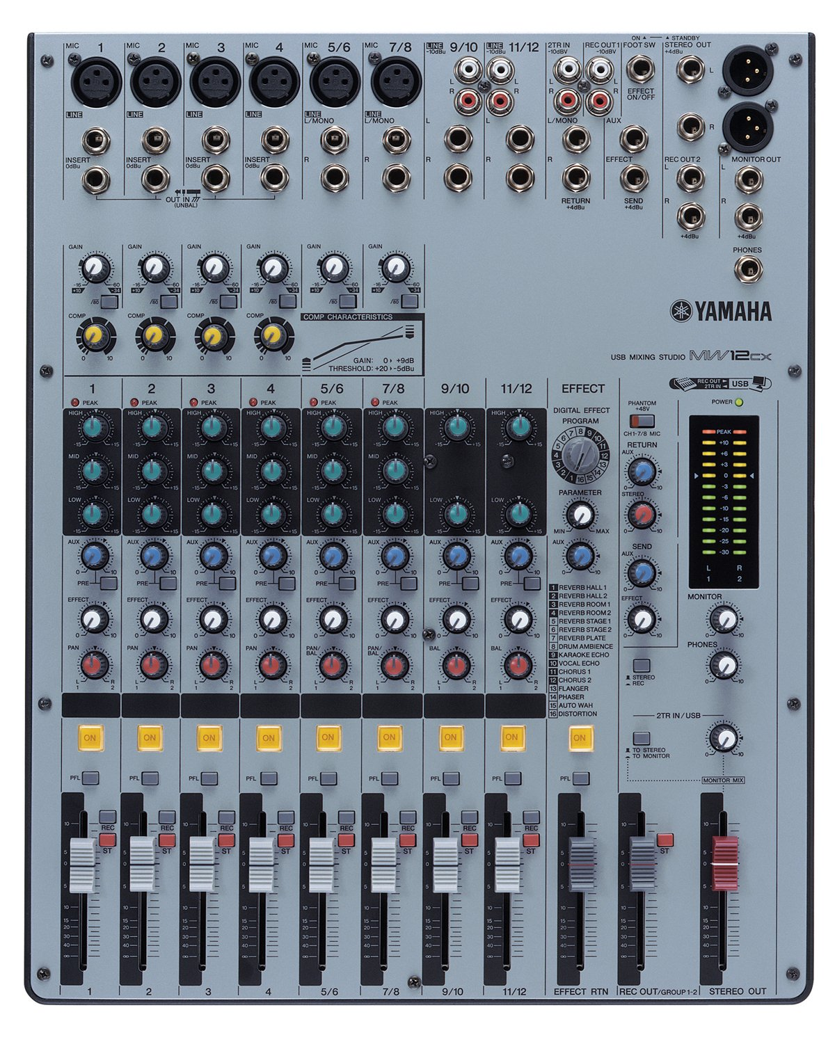 Yamaha MW12CX USB Mixing Studio reviews buy using info other related content