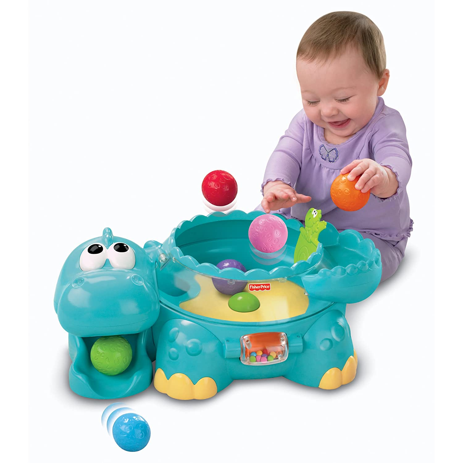 Fisher Price Toys : Fisher price poppity pop musical dino best toy for babies