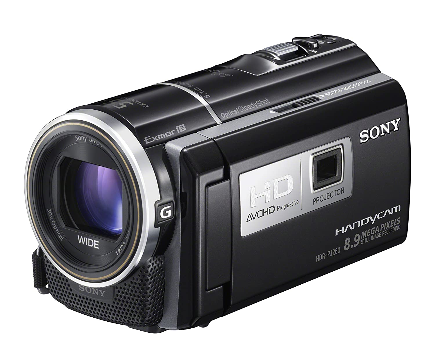 Sony HDRPJ260V High Definition Handycam 8.9 MP Camcorder with 30x Optical Zoom, 16 GB Memory and Built-in Projector ($399.00)