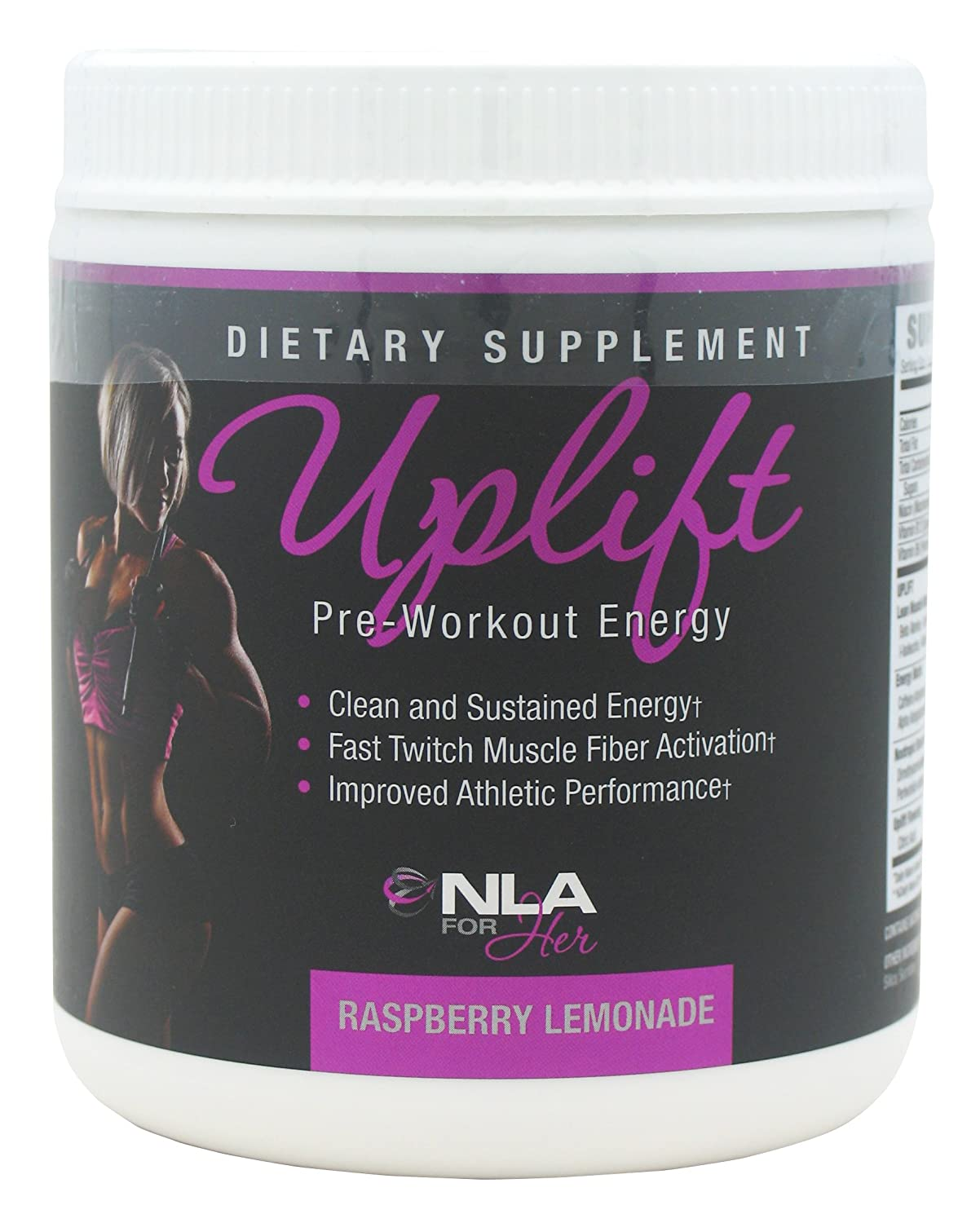 NLA for her uplift pre workout review