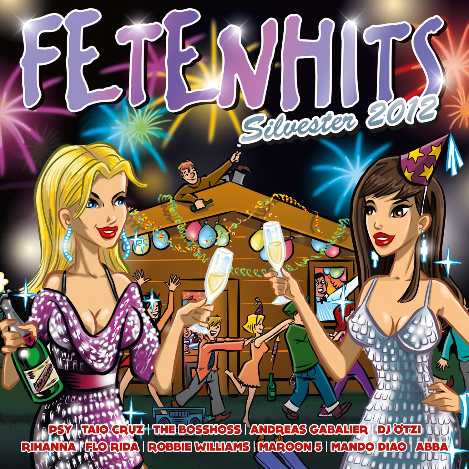 VA-Fetenhits Silvester 2012-3CD-FLAC-2012-NBFLAC Download