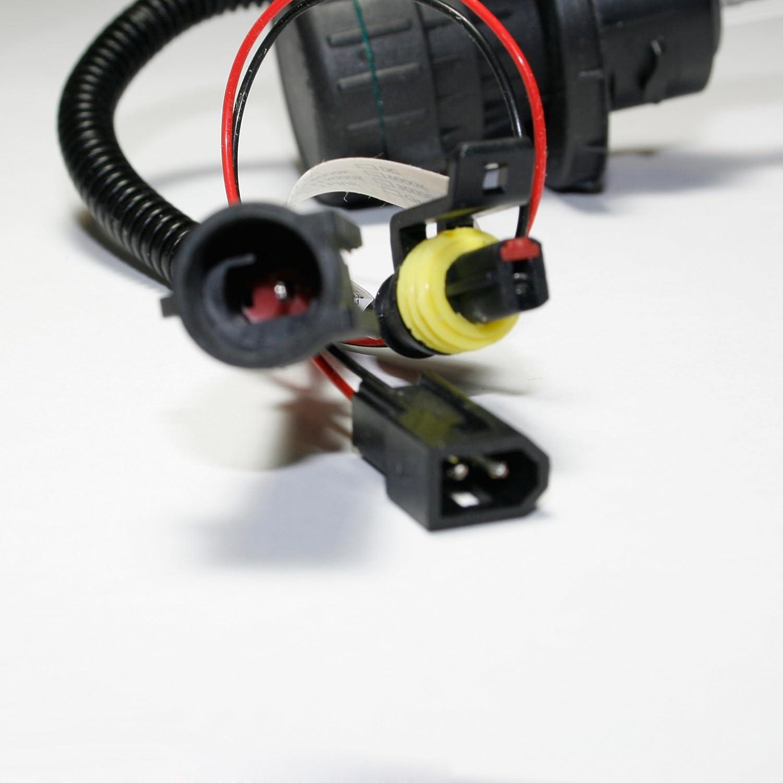 Innovited 55W HID Xenon Bi-xenon Hi/Lo Dual Beam Replacement Bulbs - 9004 9007 - 6000K