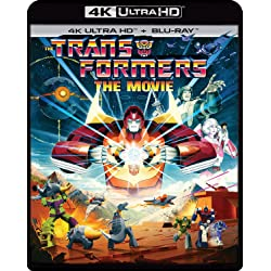 The Transformers: The Movie (35th Anniversary Edition) [4K Ultra HD + Blu-ray]