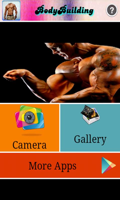 Men Bodybuilding Photoshoot