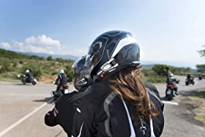 Sound By JBL Cardo PACKTALK BOLD Motorcycle Communication and Entertainment System With Natural Voice Operation Connect 2 to 15 Riders Dual Pack