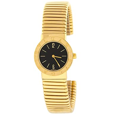 Bvlgari Tubogas 18K Yellow Gold Quartz Women's Watch