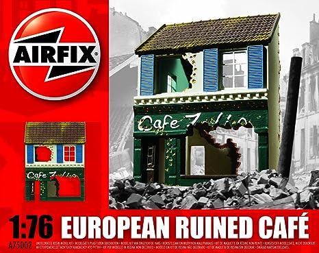 Airfix - A75002 - Maquette - European Ruined Café - Echelle 1:76