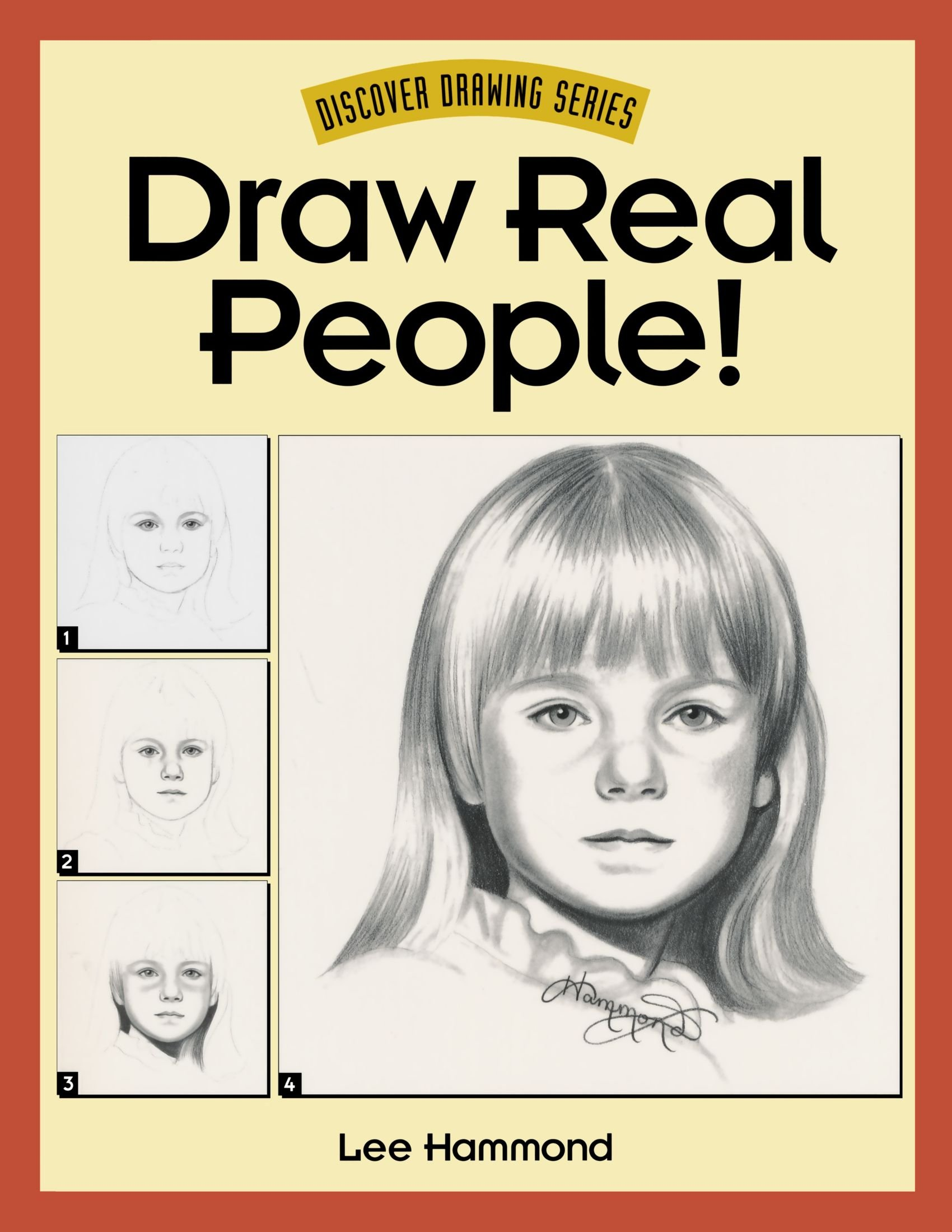 how to draw real life people