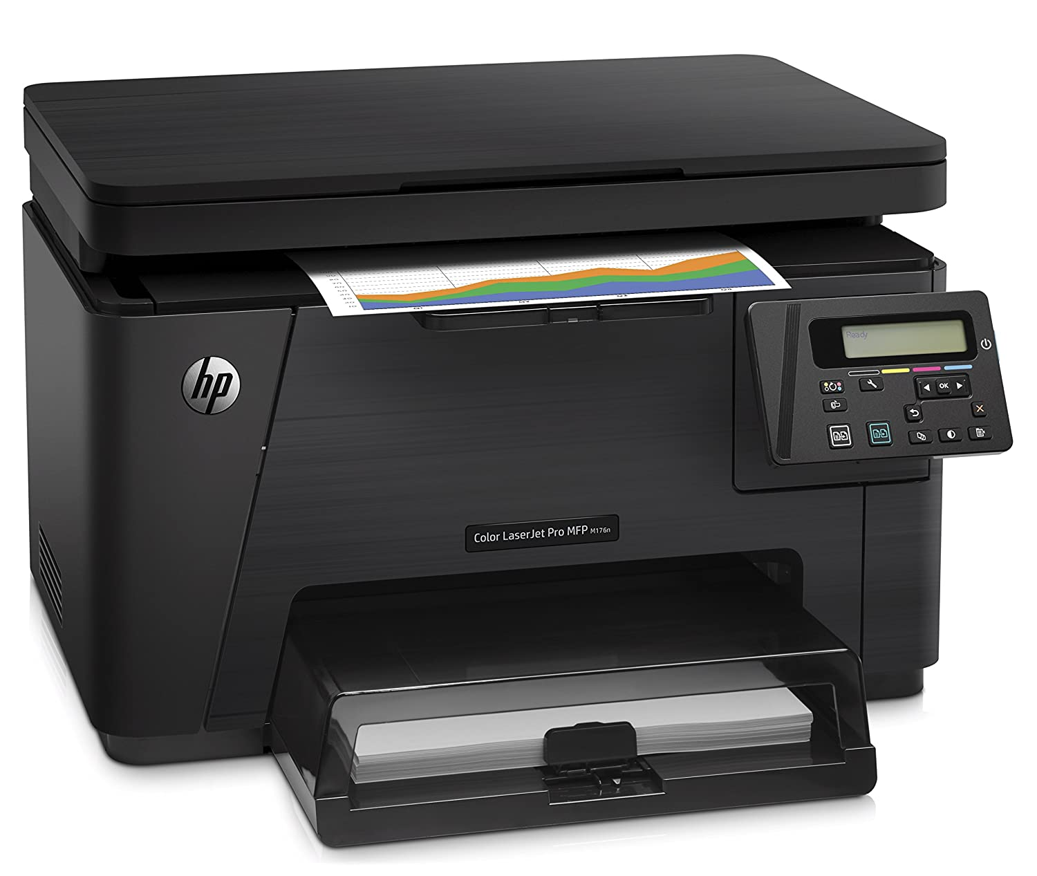 Color printouts in hyderabad - Hp Laserjet Pro M176n Color Multi Function Laser Printer Black Amazon In Computers Accessories