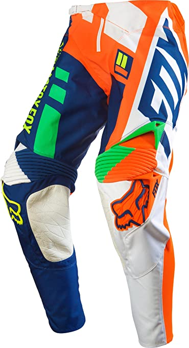 Pantalon Motocross Fox 2016 360 Division Orange-Bleu