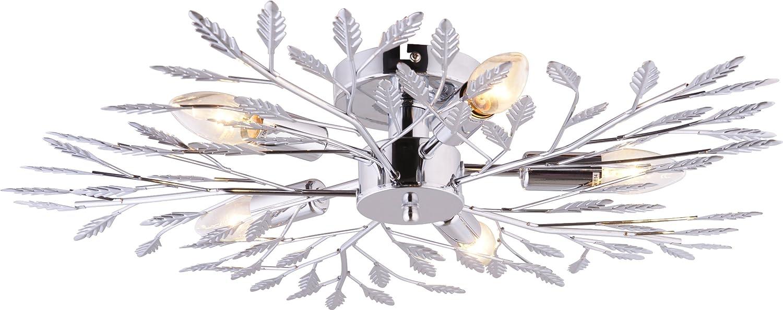 Lámpara de techo con 5 bombillas