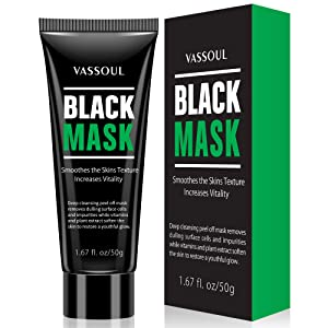 Blackhead Remover Mask, Deep Pore Cleansing for Face Nose Acne Treatment Oil Control