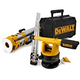 DEWALT DW090PK 20X Builder's Level Package with Tripod and Rod (Tamaño: 1-(Pack))
