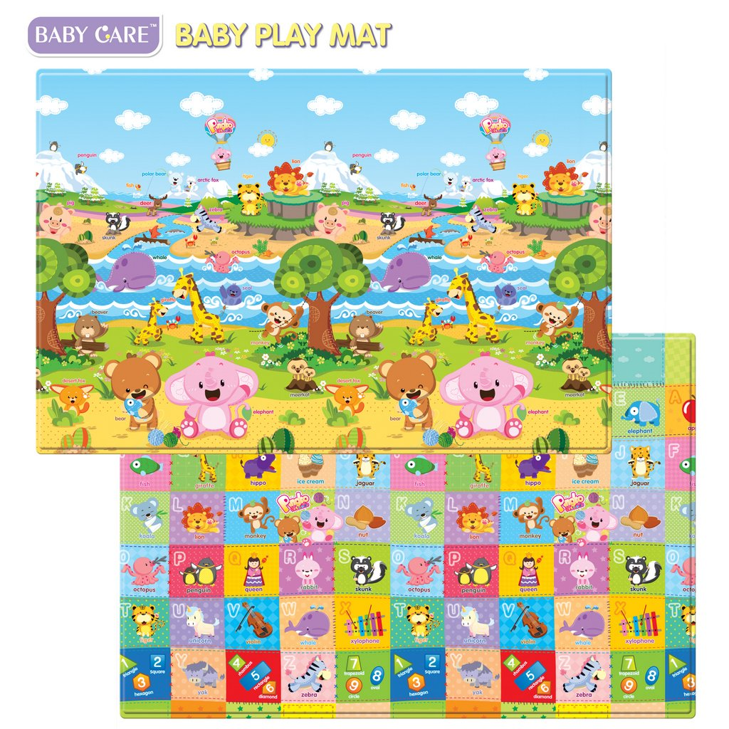 babies tummy time mat