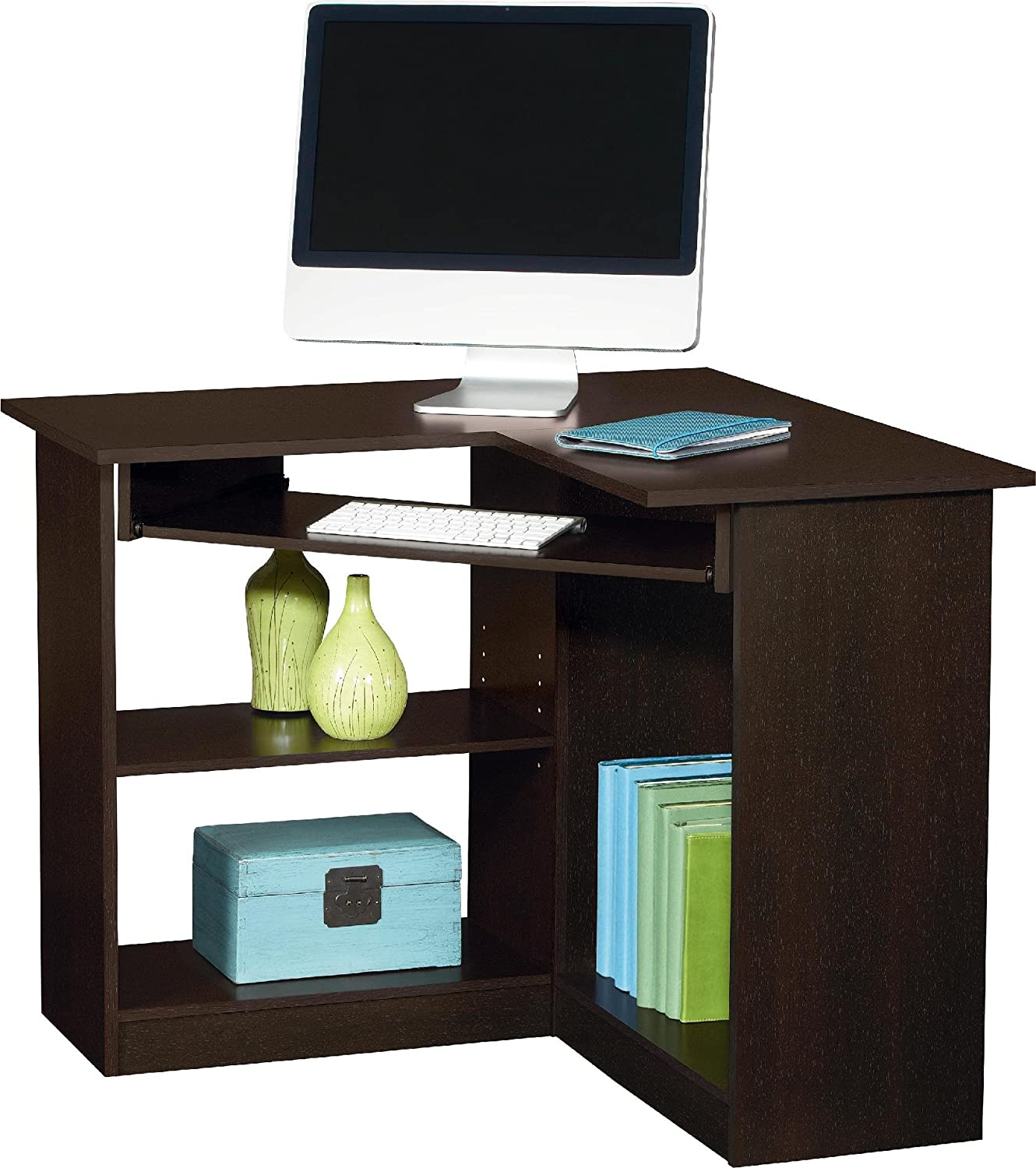 small computer desks for small spaces pc build advisor. Black Bedroom Furniture Sets. Home Design Ideas