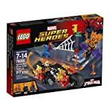 LEGO Marvel Super Heroes Spider-Man: Ghost Rider Team-up 76058 Spiderman Toy (Color: White, Tamaño: One Size)