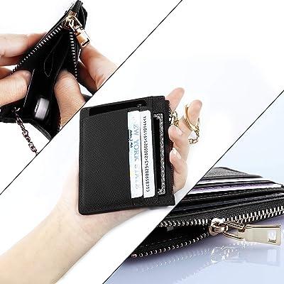 Handwork Secret [Handwork Secret] カードケース 小銭入れ RFID ブロッキング 薄型 大容量収納