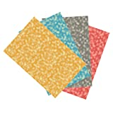 Ella Bella Photography Backdrop Paper, Assorted Bokeh (1 ea.: Gold, Blue, Gray & Red), 48