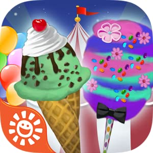 Circus Food Maker Game - Play Free Make Candy, Ice Cream & Animal Cookies with Fun Family Carnival Games from Sunstorm Interactive Inc.