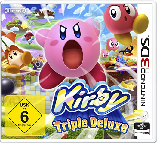 Kirby: Triple Deluxe, 3DS