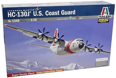 Italeri - I1348 - Maquette - Aviation - C-130j U.s Coast Guard