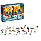 LEGO City Advent Calendar 60201, New 2018 Edition, Minifigures, Small Building Toys, Christmas Countdown Calendar for Kids (313 Pieces) (Color: Multicolor, Tamaño: 15 x 10.3 x 2.8 inches)