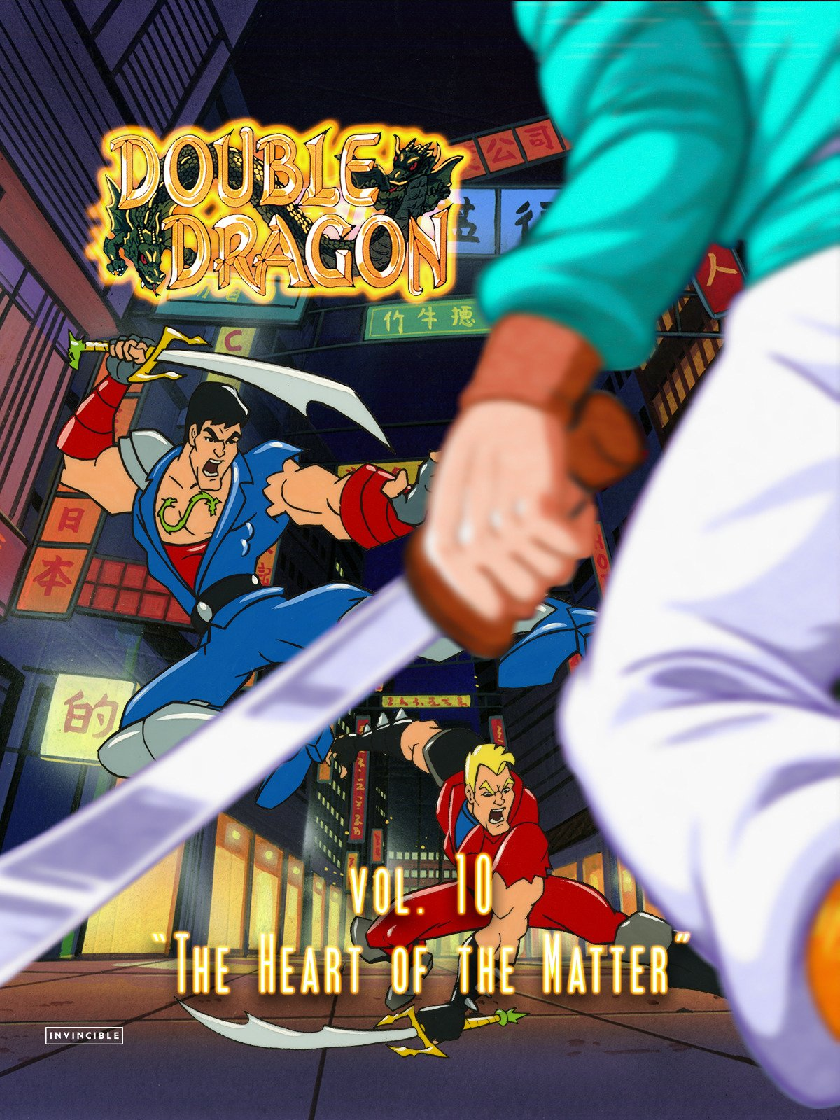 "Double Dragon Vol. 10""The Heart of the Matter"""