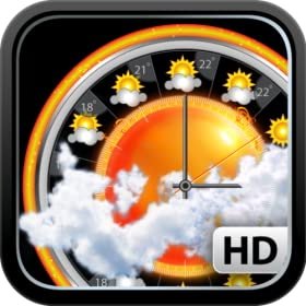 eWeather HD with NOAA Hi-Def Radar, Alerts, Earthquakes and Barometer