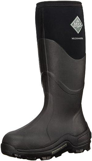 The Original MuckBoots Adult Muckmaster Hi-Cut Boot,Black,7 M US Mens/8 M US Womens