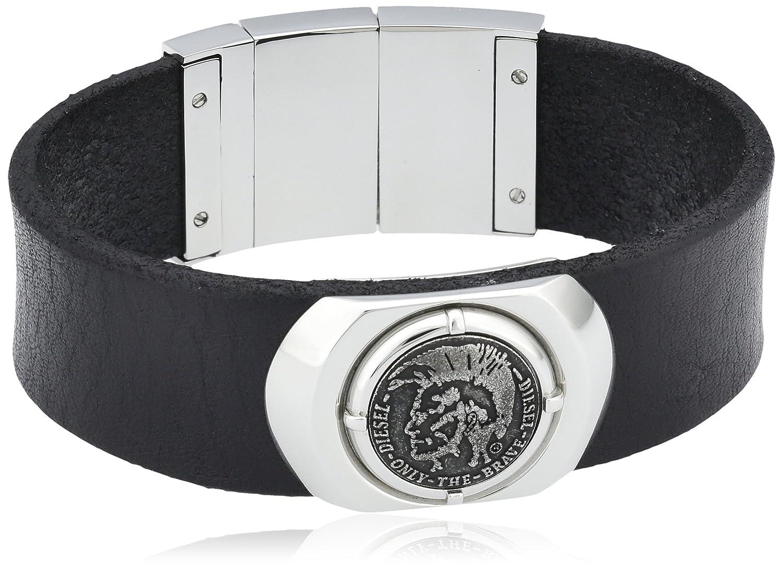 Diesel Herren Armband Edelstahl Leder Ohne DX0799040 günstig kaufen