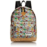 OUTDOOR Peanuts Snoopy colorful Backpack SY431 from Japan (Color: Colorful, Tamaño: 260×370×170mm)