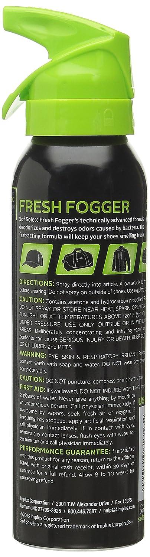 Sof Sole Deodorizing Fresh Fogger Back